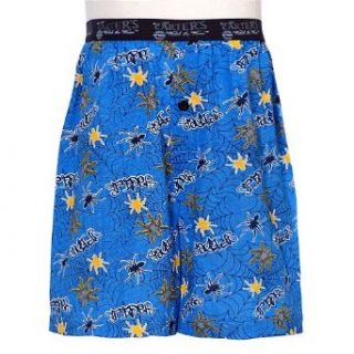 Little Boys Blue Yellow Spider Web Boxer Shorts Underwear 4 18 No Clothing