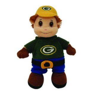 "NFL Officially Licensed Green Bay Packers Lil' Fans Stuffed Mascot Approximately 12"" Toys & Games"