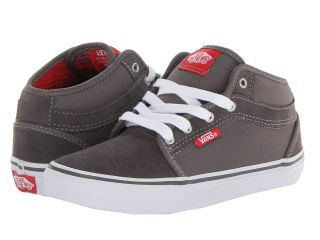 Vans Kids Chukka Midtop Boys Shoes (Pewter)