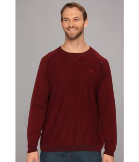Tommy Bahama Big & Tall Big Tall Barbados Crew Sweater Mens Sweater (Burgundy)