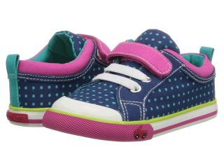 See Kai Run Kids Kristin Girls Shoes (Navy)