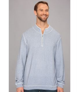 Tommy Bahama Big & Tall Big Tall Seaside Avenue Half Zip Sweater Mens Sweater (Blue)