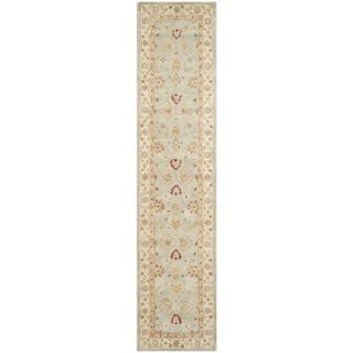 Safavieh Antiquity Grey Blue/ Beige Rug (26 X 18)