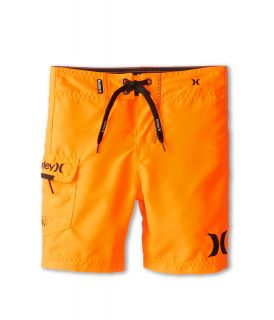 Hurley Kids One Only Boardshort Boys Swimwear (Orange)