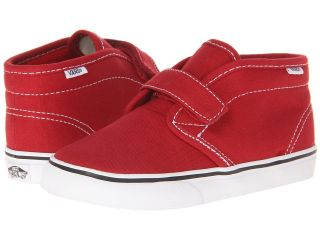 Vans Kids Chukka V Boys Shoes (Red)