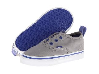 Vans Kids Authentic V Frost Gray/Deep Ultramarine) Boys Shoes (Gray)