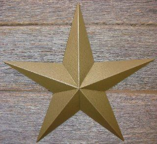 "53 Inch Heavy Duty Metal Barn Star Painted Hammered Gold. The Hammered Paint Effect Allows the Star to Look Great in Either a Contemporary or Rustic Theme. This Tin Barn Star Measures Approximately 53"" From Point to Point (Left to Right). The Barnstar"
