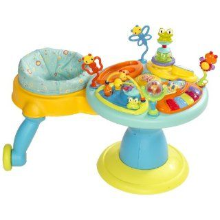 Bright Starts Around We Go Activity Station, Doodle Bugs  Stationary Stand Up Baby Activity Centers  Baby
