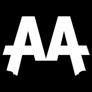 Asking Alexandria Band Vinyl Car Decal Sticker White 5""