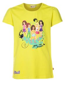 LEGO Wear   TASJA   Print T shirt   yellow
