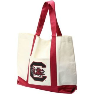South Carolina Gamecocks Ladies Team Color Team Bag   Khaki/Garnet