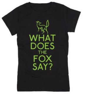 What Does the Fox Say? Funny Youth Short Sleeve Tee Shirt Clothing