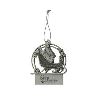 Marist Pewter Sleigh Ornament 'Marist w/Fox'  Sports Fan Hanging Ornaments  Sports & Outdoors