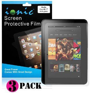 Ionic Screen Protector Film Matte (Anti Glare) for  Kindle Fire HD 8.9 Kindle Fire HD Tablet (3 pack)[Doesn't fit Kindle Fire HD 7 Inch][Lifetime Replacement Warranty] Kindle Store