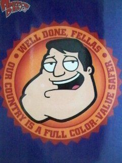 "American Dad Magnet ""Well Done, Fellas; Our Country Is a Full Color value Safer""  Other Products"