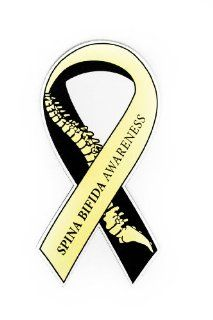 Spina Bifida Awareness Ribbon   Car Magnet  Other Products