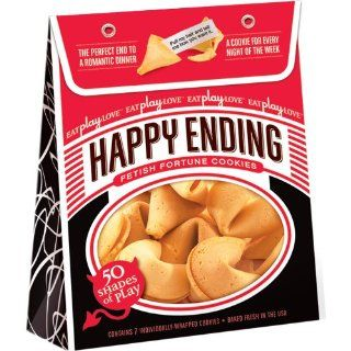 Happy Ending Fortune Cookies   50 Shades Of Play Edition  7 Pack   Best Health & Personal Care