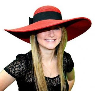 Melanie Kentucky Derby Hat (Red) Sun Hats