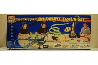 Hot Wheels 2003 Highway 35 World Race Motorized Ultimate Track Set   Only 1,000 produced worldwide. This is the largest Mattel Hot Wheels Race Track Set ever made. Includes 2 Exclusive Hotwheels cars found only in this set. This was never sold in stores. Y