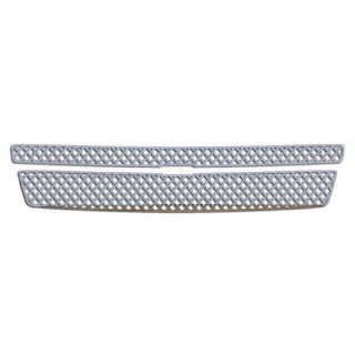 Ferreus Industries   2007 2013 Chevy Suburban Diamond Mesh Polished Stainless Grille Insert Works On All Models (Except Hybrid)   TRK 100 04 02 Automotive