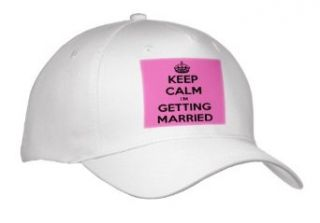 EvaDane   Funny Quotes   Keep calm I'm getting married. Wedding. Engagement. Bride.   Caps   Adult Baseball Cap Clothing