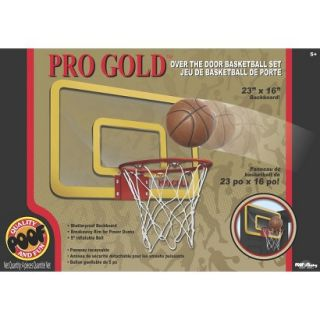 Poof Slinky Pro Gold Large 23 inch Basketball Hoop