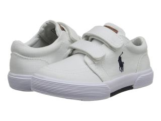 Polo Ralph Lauren Kids Faxon II EZ Boys Shoes (White)