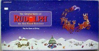 The Original Game of Rudolph the Red Nosed Reindeer; the Fun Game of Giving