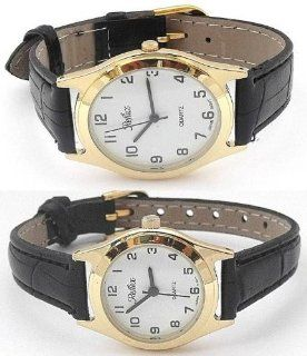 Reflex   His And Hers Classic Gold Matching Gift Set Watches (Gb/Lb) at  Men's Watch store.