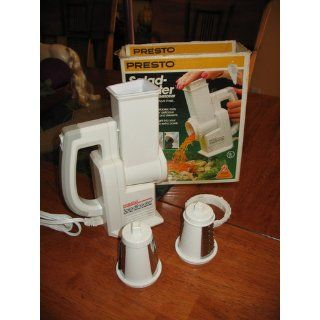 Presto 02910 Salad Shooter Electric Slicer/Shredder Kitchen & Dining