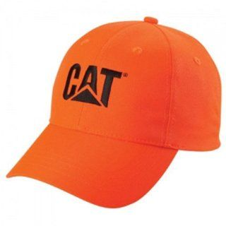 Caterpillar CAT Blaze Hunter Orange Cap Sports & Outdoors