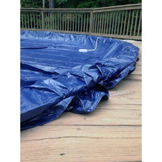 Dirt Defender 8 Year 28 Feet Round Above Ground Winter Pool Cover  Swimming Pool Covers  Patio, Lawn & Garden