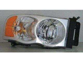 PASSENGER SIDE HEADLIGHT Dodge Ram 1500, Dodge Ram 2500, Dodge Ram 3500 HEAD LIGHT ASSEMBLY; FITS 2002 LATE DESIGN MODELS [THIS WILL FIT ON 2005 MODELS] Automotive