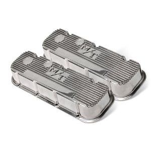 Holley 241 84 M/T Polished Valve Cover for BB Chevy Automotive