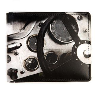 steering wheel leather wallet by me and my car