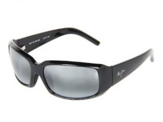 New Maui Jim Blue Water 236 02H Midnight Black/Neutral Grey Polarized 62mm Sunglasses Clothing