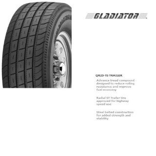 "Gladiator 23585R16 ST 235/85R16 STEEL BELTED REINFORCED Trailer Truck Tire 14 Ply 14pr 16 Inch 16 "" ST235 85R R16 Load Range G Automotive"