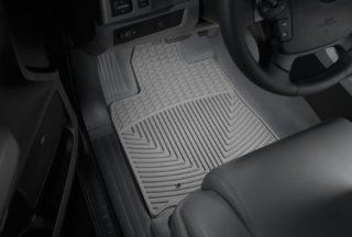 WeatherTech   W234GR   2010   2012 Ford Fusion Grey All Weather Floor Mats 1st Row Automotive