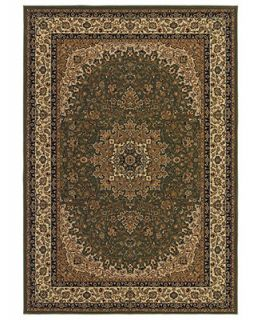 MANUFACTURERS CLOSEOUT Couristan Rugs Tamena TAM109 Kashan Green   Rugs