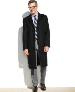Kenneth Cole Reaction Coat, Raburn Wool Blend Overcoat Slim Fit   Coats & Jackets   Men