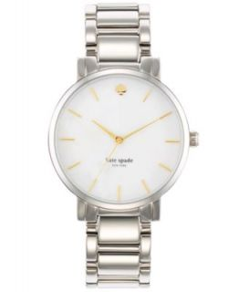 kate spade new york Watch, Womens Gramercy Stainless Steel Bracelet 38mm 1YRU0008   Dresses   Plus Sizes