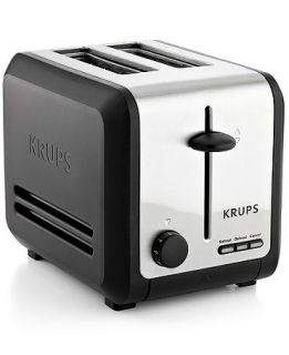 Krups KH742D50 Definitive Series Stainless Steel 2 Slice Toaster   Electrics   Kitchen