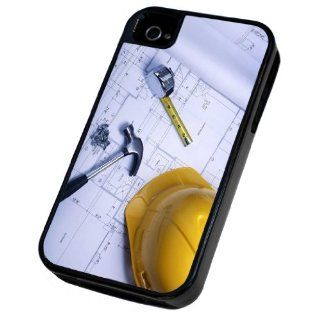 Builder Tools Style Design iphone 4 4S Defender/Builder Heavy Duty Case/Cover Shock Proof Cover Cell Phones & Accessories