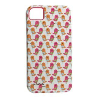 Case Mate Tough Series Apple iPhone 4 / 4S Pink Birds Cell Phones & Accessories