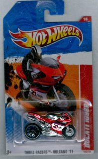 Hot Wheels 2011 199 Ducati 1098R Thrill Racers Volcano '11 RED 164 Scale Toys & Games