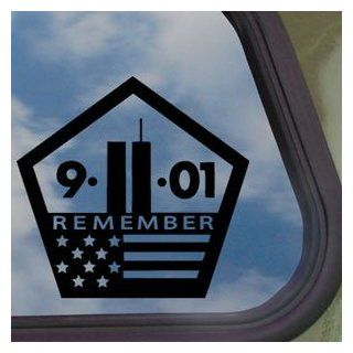 World Trade Center Black Decal 9/11 NYC New York Car Sticker Automotive