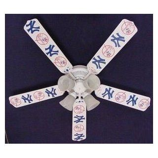 Ceiling Fan Designers 52FAN MLB NYY MLB York Yankees Baseball Ceiling Fan 52 In.