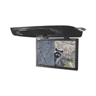Pyle Plrd195if 19 Roof Mount Flip Down Widescreen Tft Lcd Car Monitor W/dvd  Vehicle Electronics