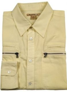 John Varvatos U.S.A. Mens Casual Shirt Limoncello Sz XL W192K1B at  Men�s Clothing store Button Down Shirts