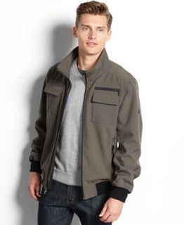 Calvin Klein Jacket, Four Pocket Soft Shell Jacket   Coats & Jackets   Men